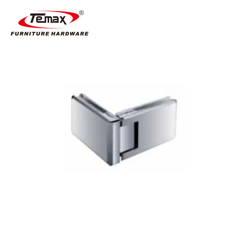 TEMAX shower door glass clamps glass door hardware glass holder