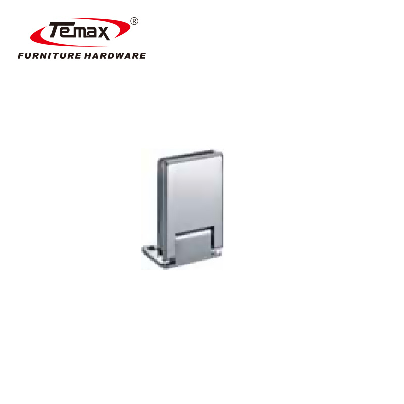 TEMAX square heavy duty glass door railing clamp