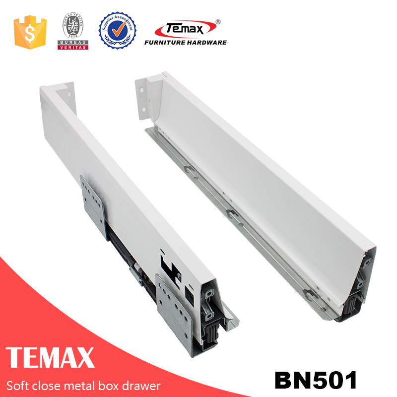 Temax undermount drawer slide kitchen cabinet drawer slide channel slide for drawer