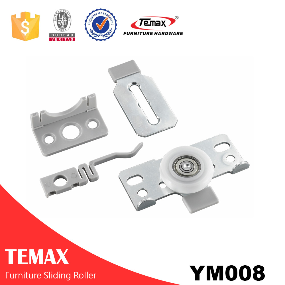 Temax sliding door system for wardrobe sliding door