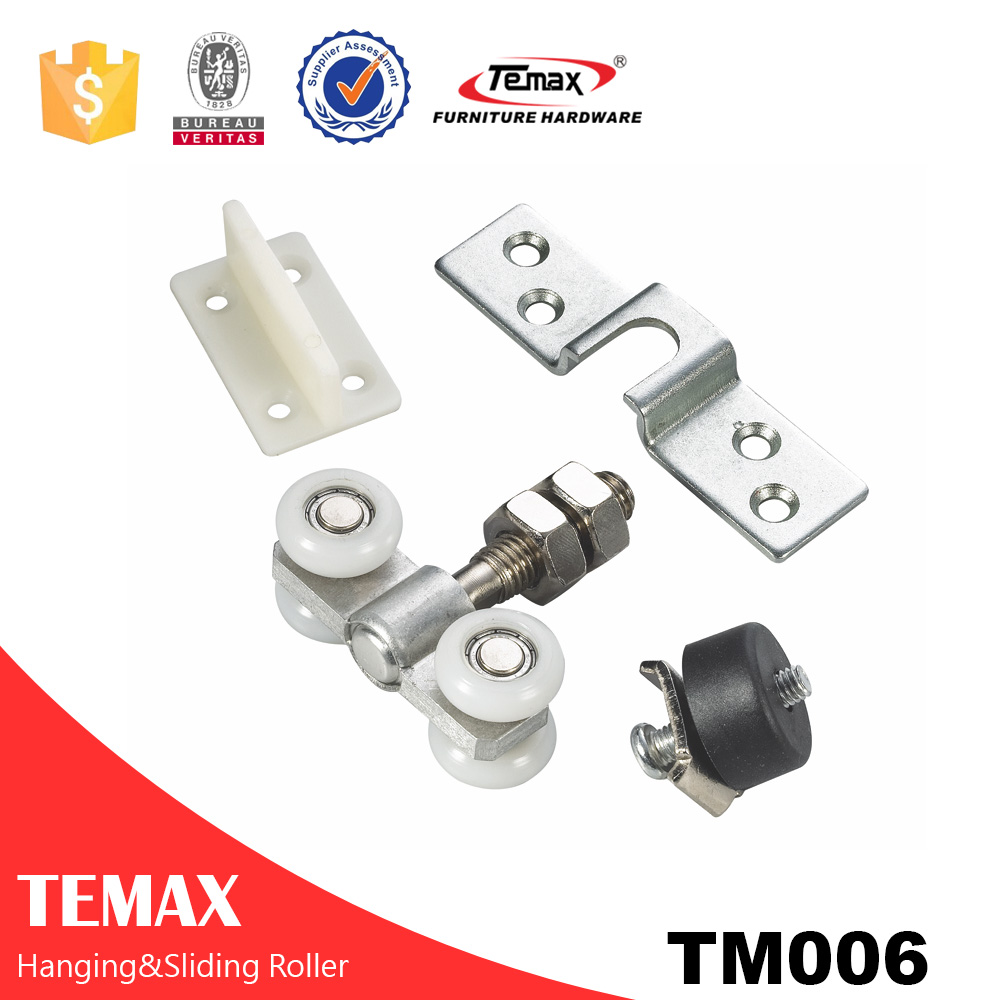 Temax wooden hanging sliding door roller