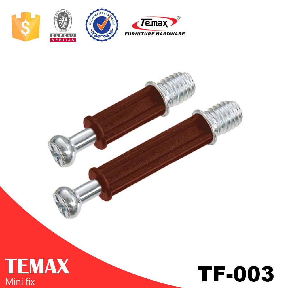 Cabinet door connecting bolt & furniture mini fix #TF-003