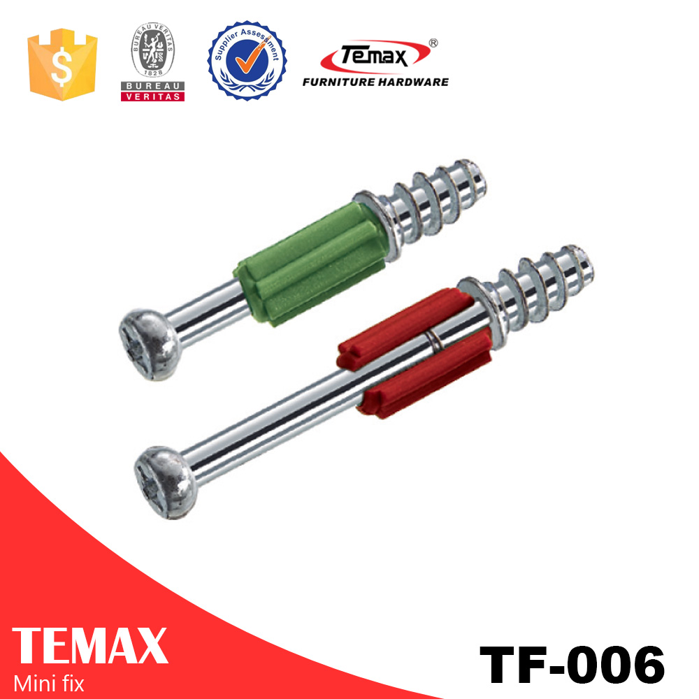 TF-006 Steel Zinc alloy Cabinet Connector Fitting Furniture Hardware