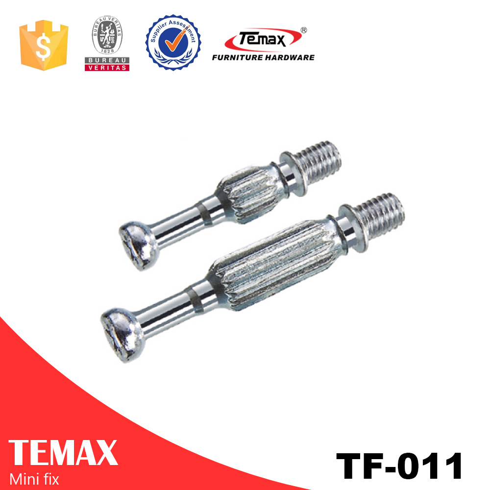 TF-011 Steel Zinc alloy Cabinet Furniture Connecting Cam Connector Fittings