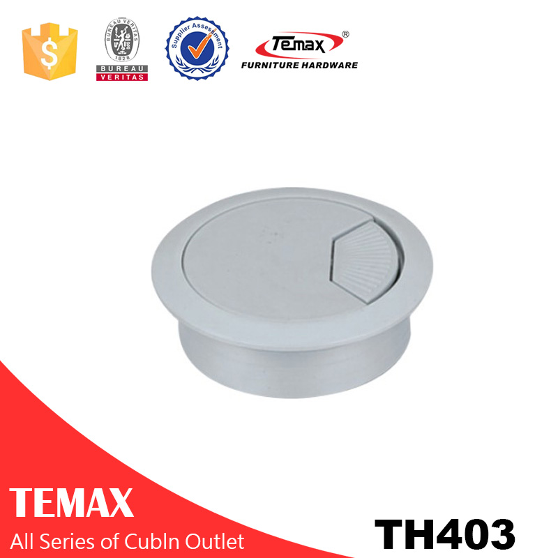 TH403 GB Zinc Alloy Plastic Computer Desk Wire Line Box