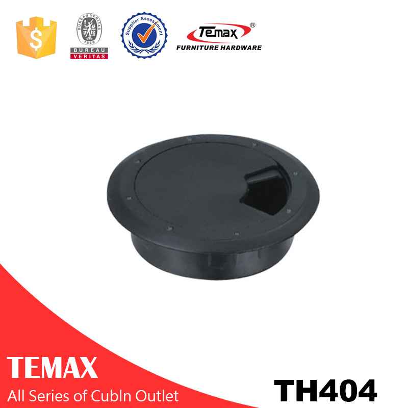 TH404 Plastic/alloy grommets /table hole cover/office desk line box