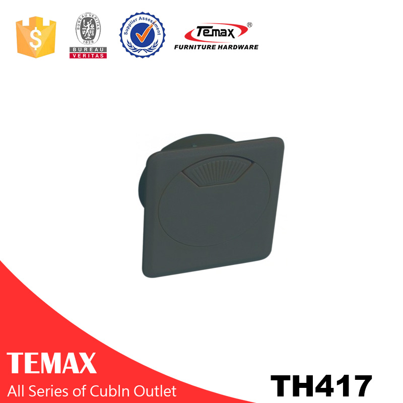 TH417 plastic cable outlet box for office desk