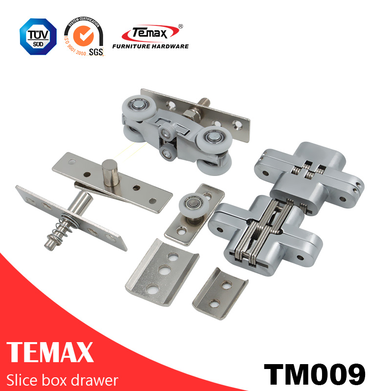 TM009 Hanging Pocket Sliding Door Track System Roller