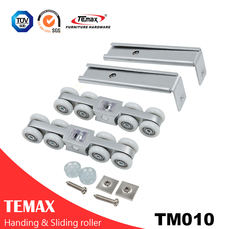 TM010 Top Hanging Sliding Doors Hardware for Wooden Sliding Doors