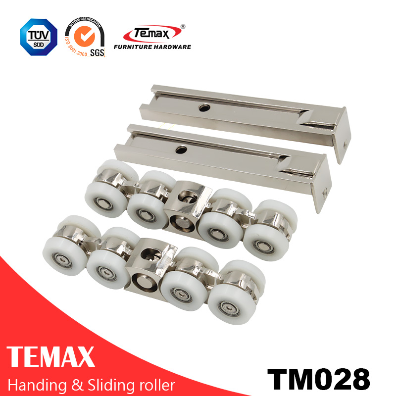 TM028 Interior Hanging Sliding Pocket Closet Door Hardware