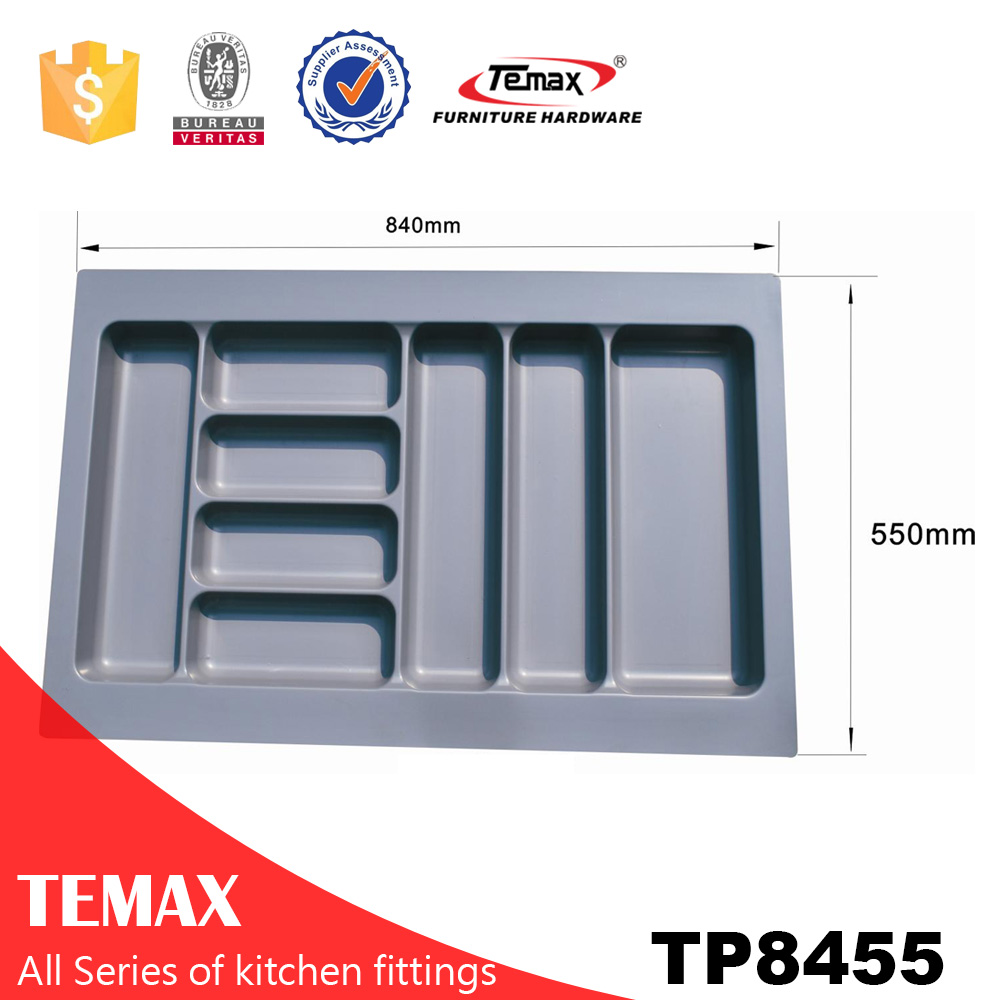 TP8455 rectangular plastic tray