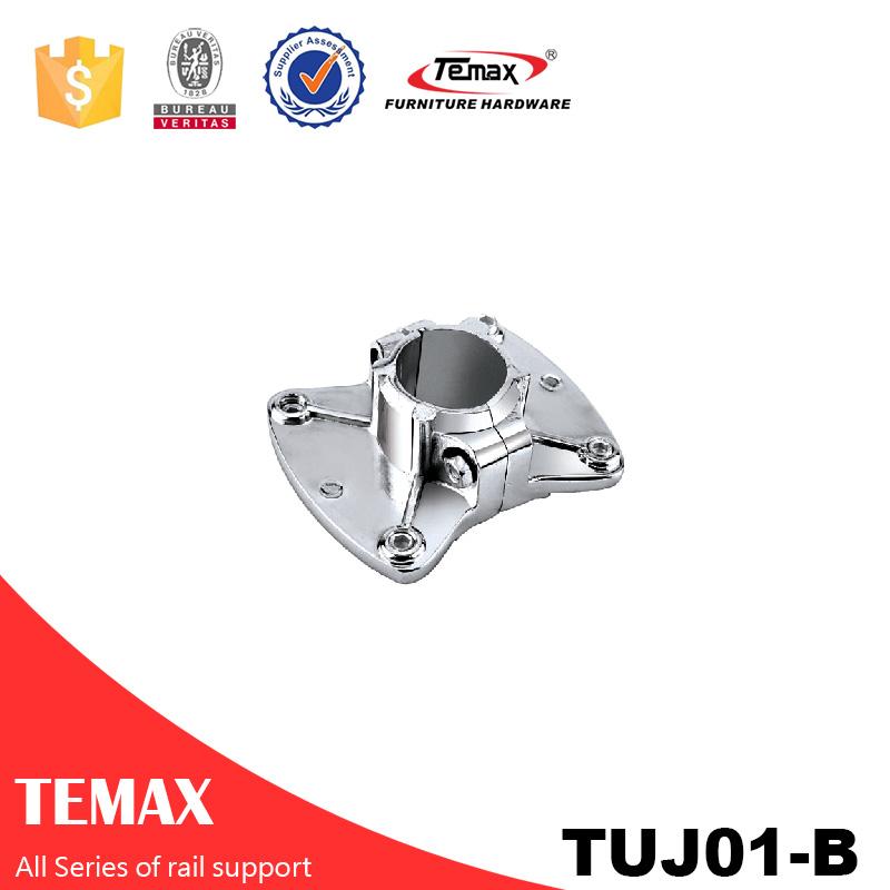 TUJ01-B Dia 19mm فولاد کروم کمربند کمربند ایمنی برای اتصالات اتاق خواب