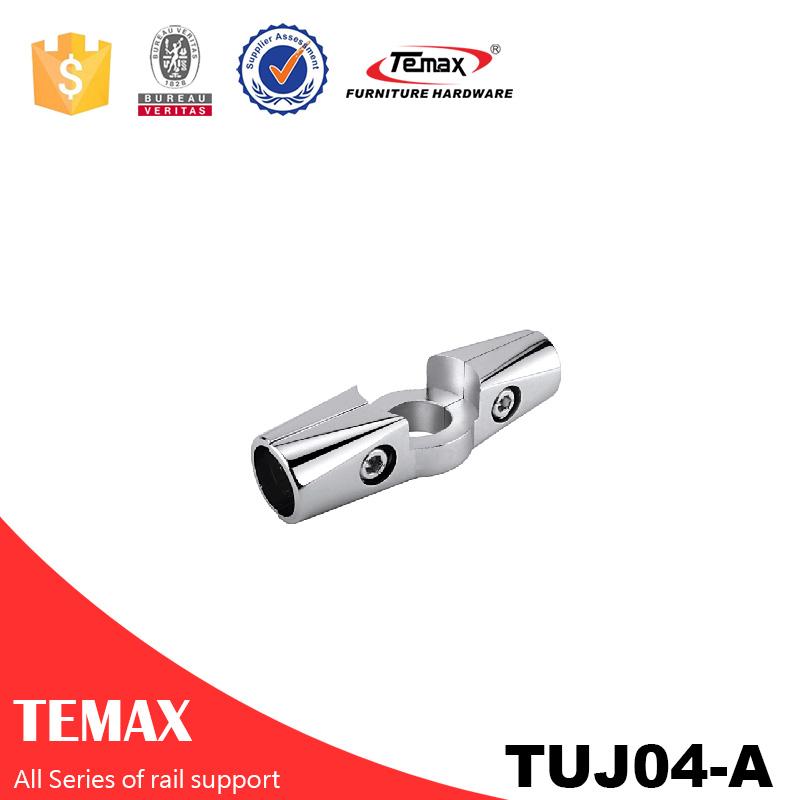 TUJ04-A Dia 25mm کمد لباس لوله لباس راه آهن دارنده