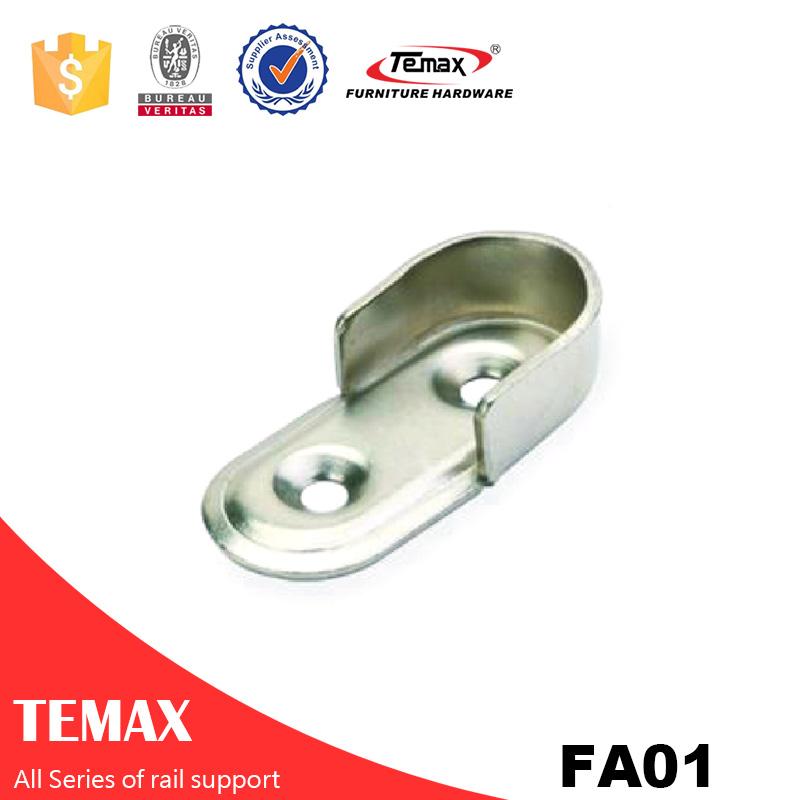 FA01 Modern nickel furniture Wardrobe rail support