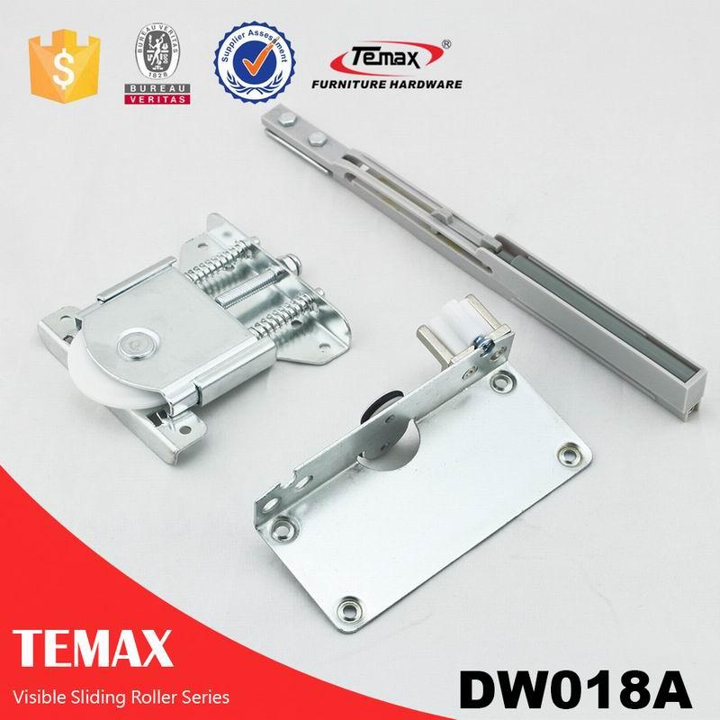DW018A مرئية انزلاق بكرة الباب والمسار