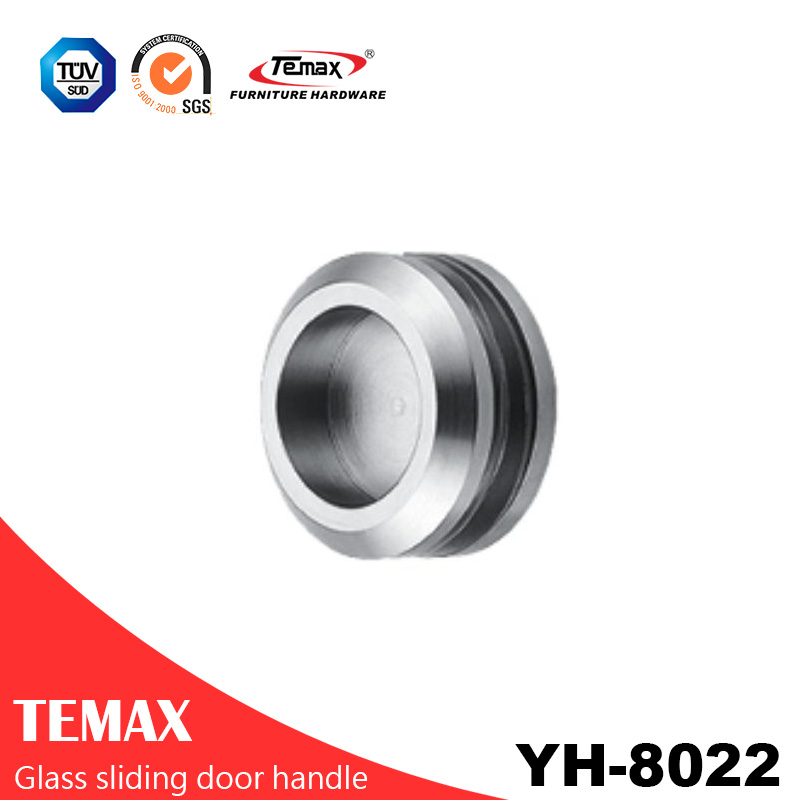YH-8022 popular type metal circular sliding door handle
