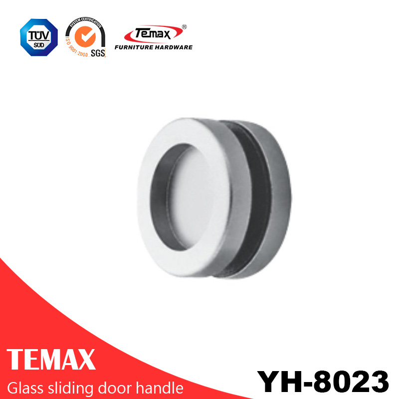 YH-8023 popular type aluminum alloy sliding door handle