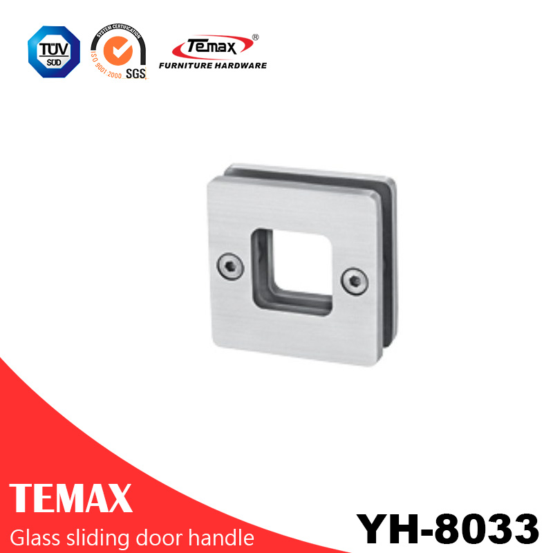 YH-8033  good quality metal glass sliding door handle