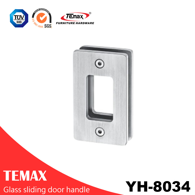 YH-8034  popular type metal glass sliding door handle