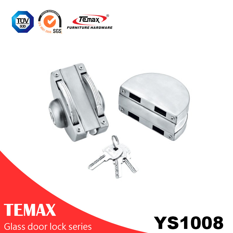 YS1008 China factory direct supply glass door lock