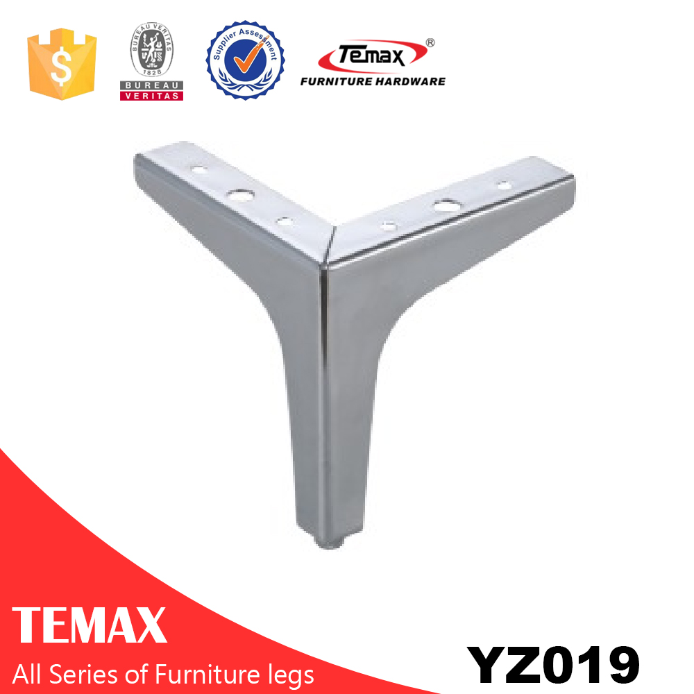 YZ019 Y shaped steel different finish furniture leg