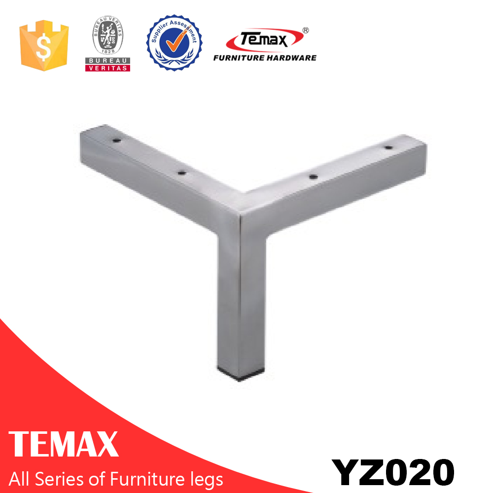 YZ020 Big Y shaped wholesale furniture leg in metal steel
