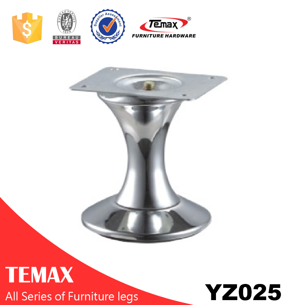 YZ025 new design chrome cheap furniture legs