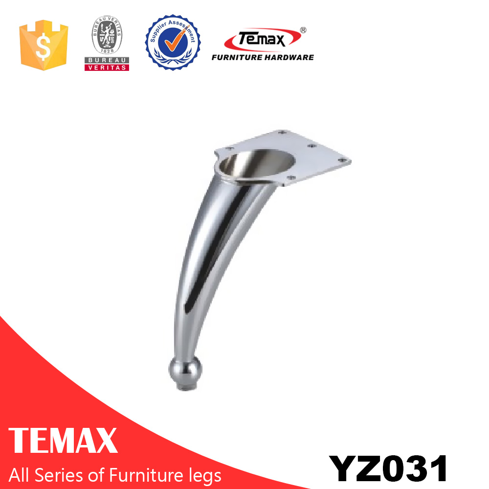 YZ031 Temax hot chrome metal high quality furniture leg