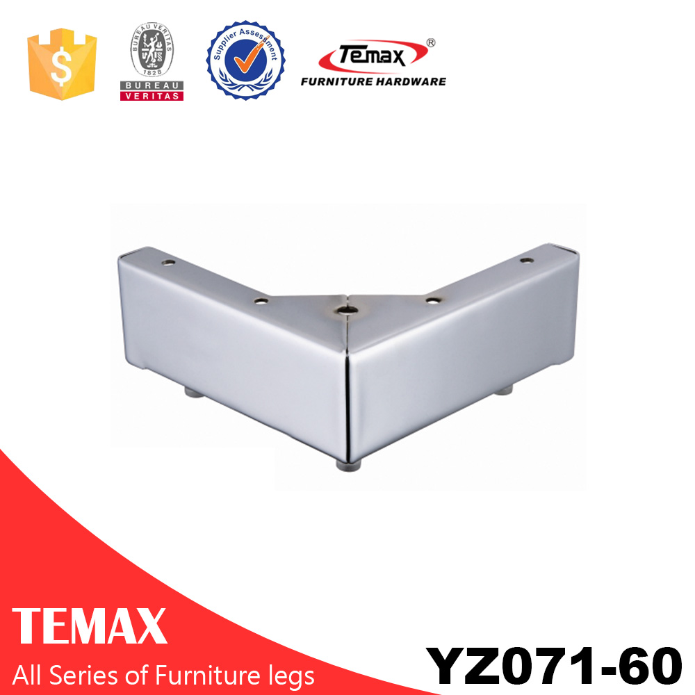 YZ071-60 Temax hot V shape metal furniture table leg