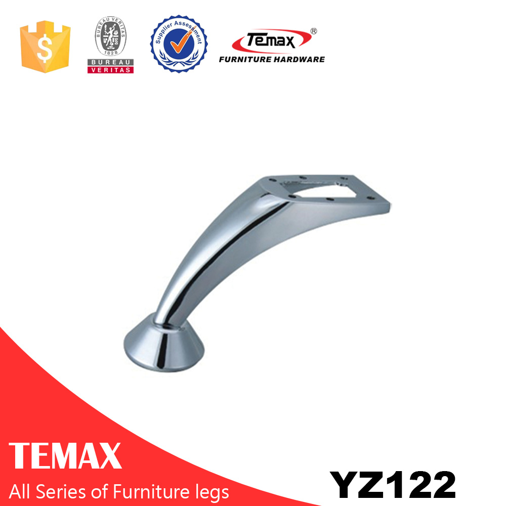 YZ122 high quality furniture sofa legs fittings