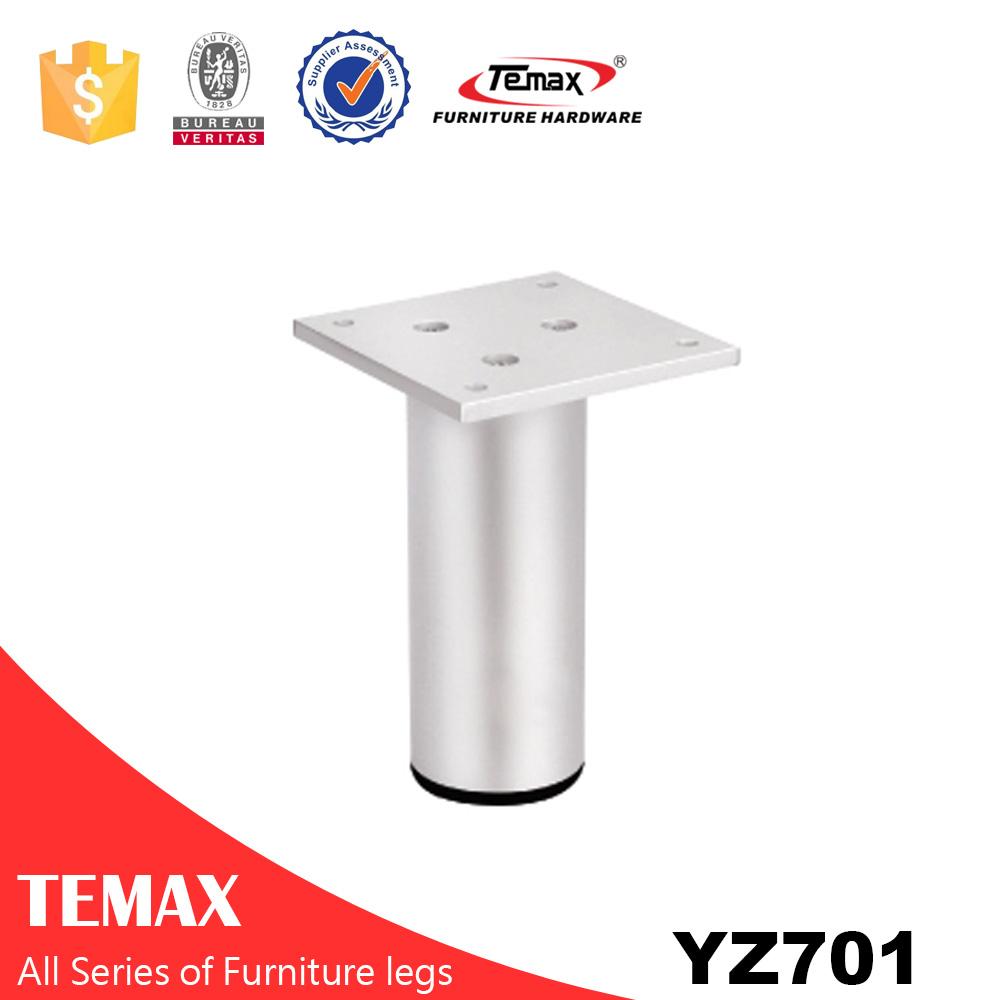 YZ 701 Temax Metall verchromt Möbel Sofa Beine