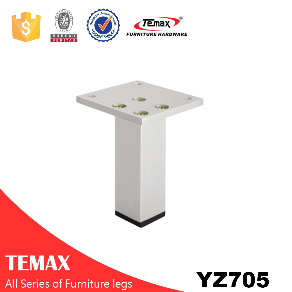 YZ705  square shape new design aluminium alloy furniture leg