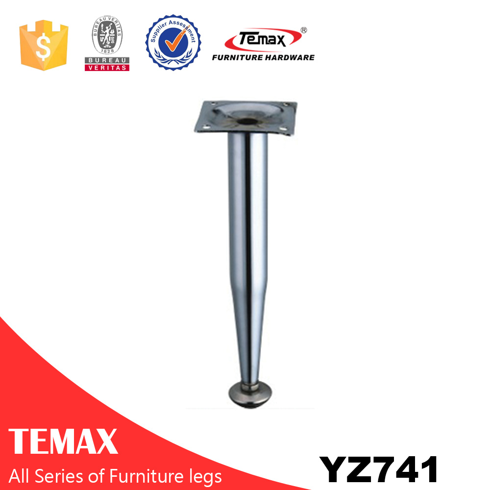 YZ741 Round shape hot sale aluminium furniture legs