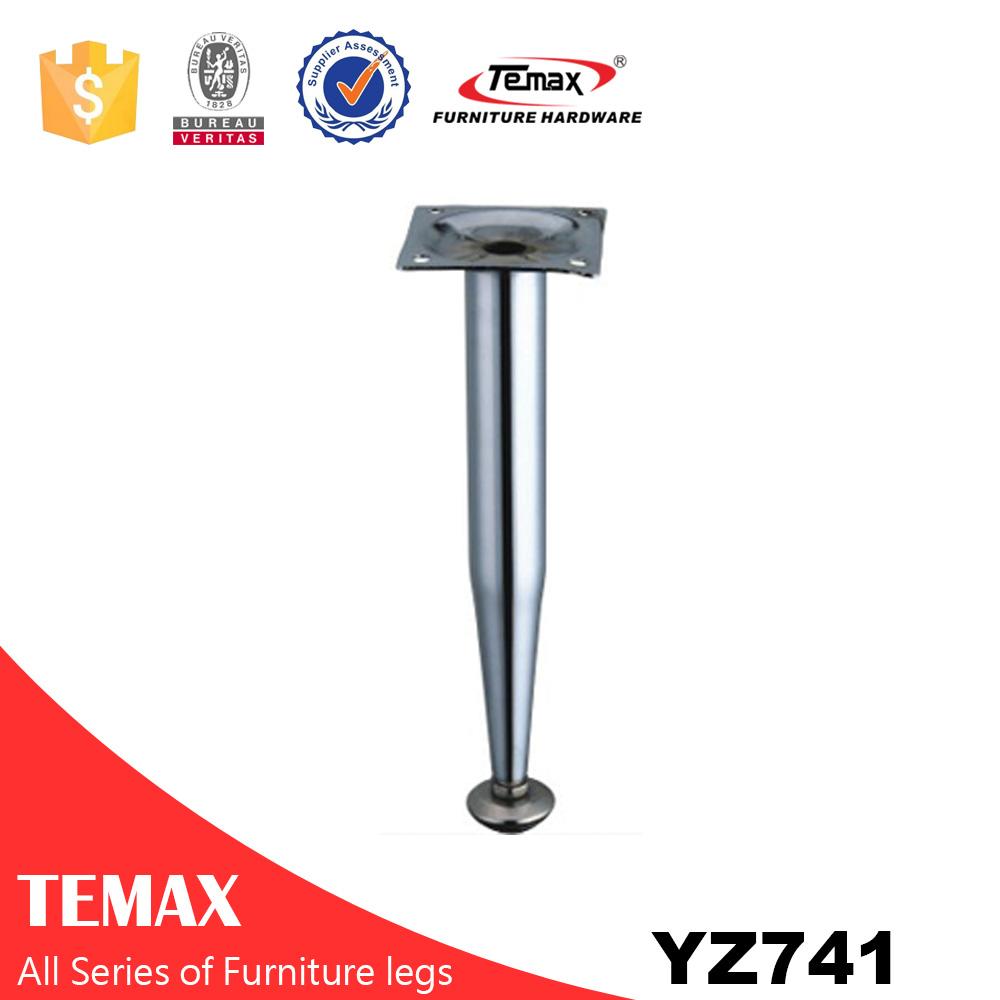YZ741 Round shape hot sale aluminium furniture legs