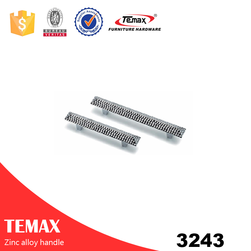 3243 Popular modern style zinc alloy handle