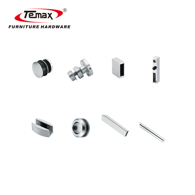 zinc alloy Stainless steel sliding glass shower door rollers bearings