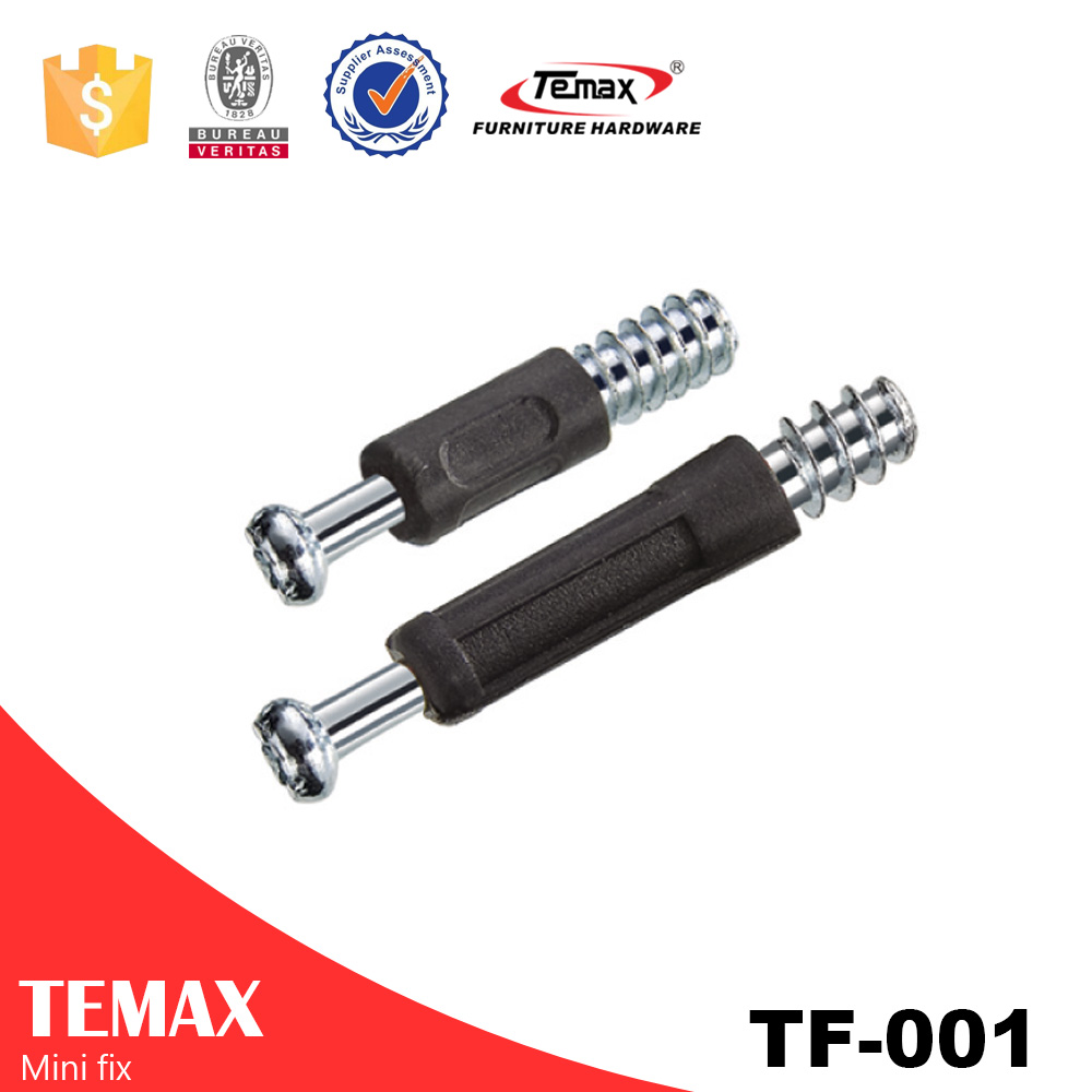 Zinc alloy conecting bolt & furniture cabinet fitting / mini fix