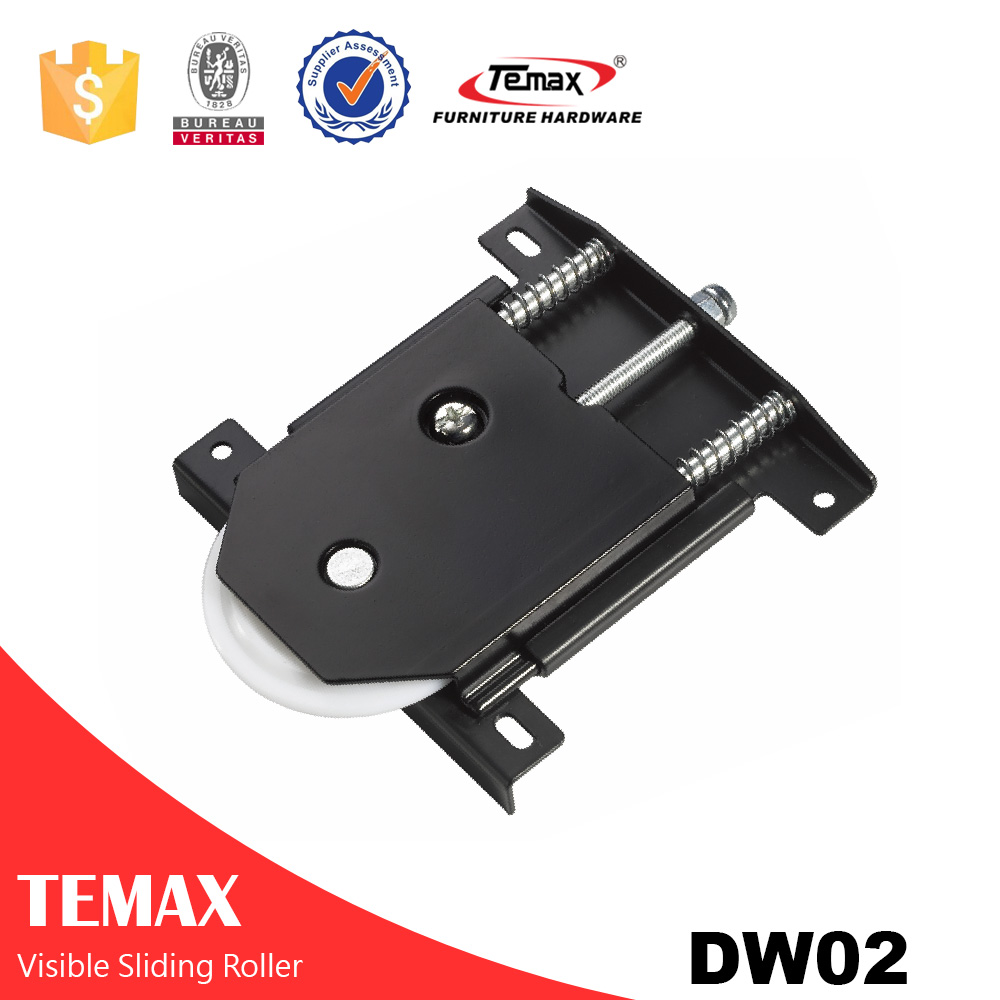 Zinc alloy cover sliding door track roller