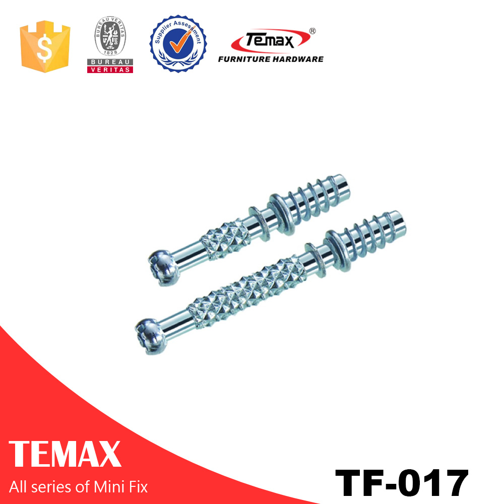 Zinc finish Connecting Fittings Screw