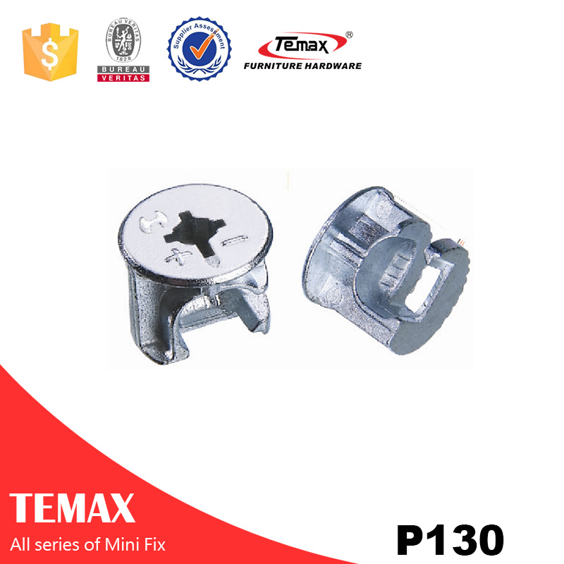 Zinc finish Connector fittings Cam