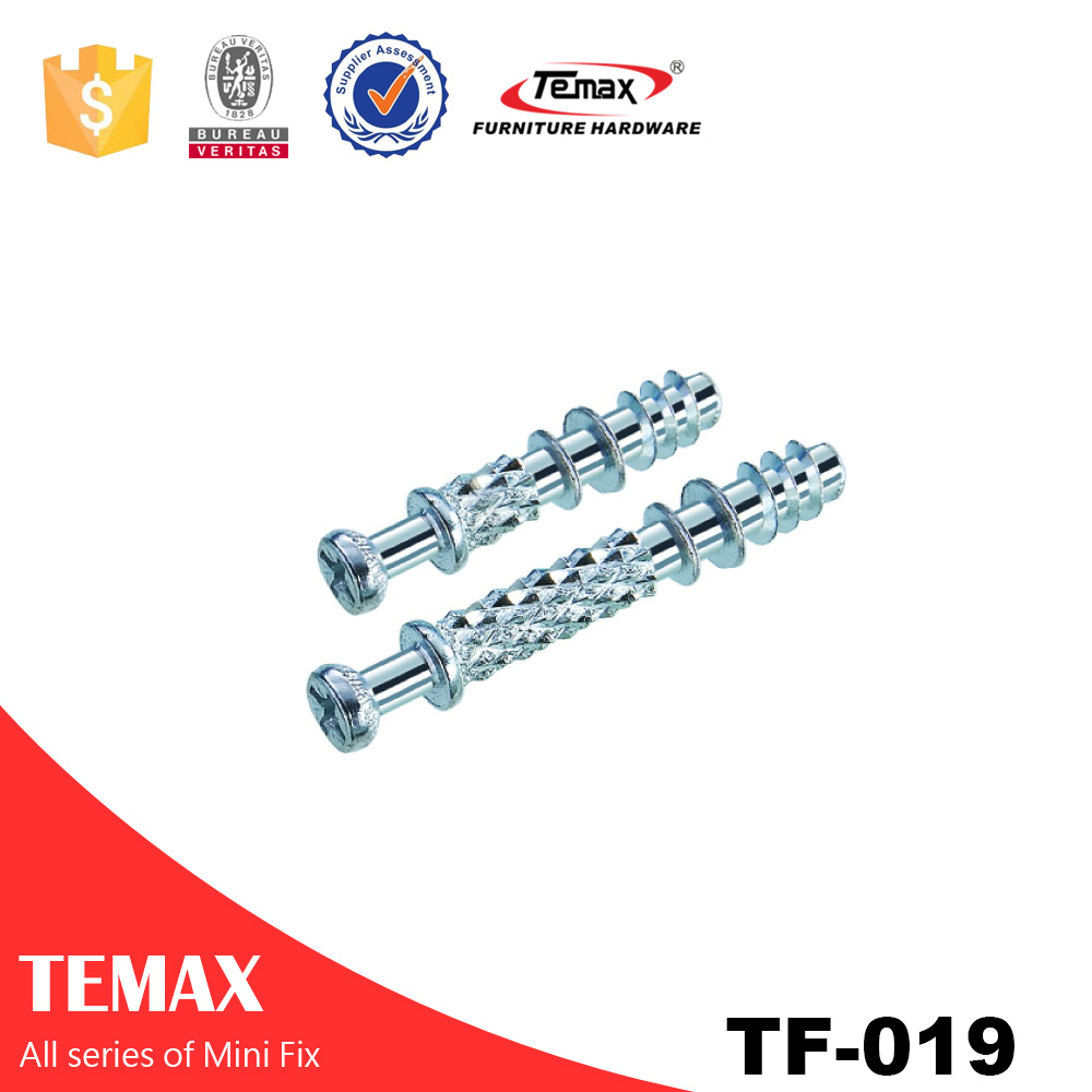 Zinc finish Connector fittings Screw