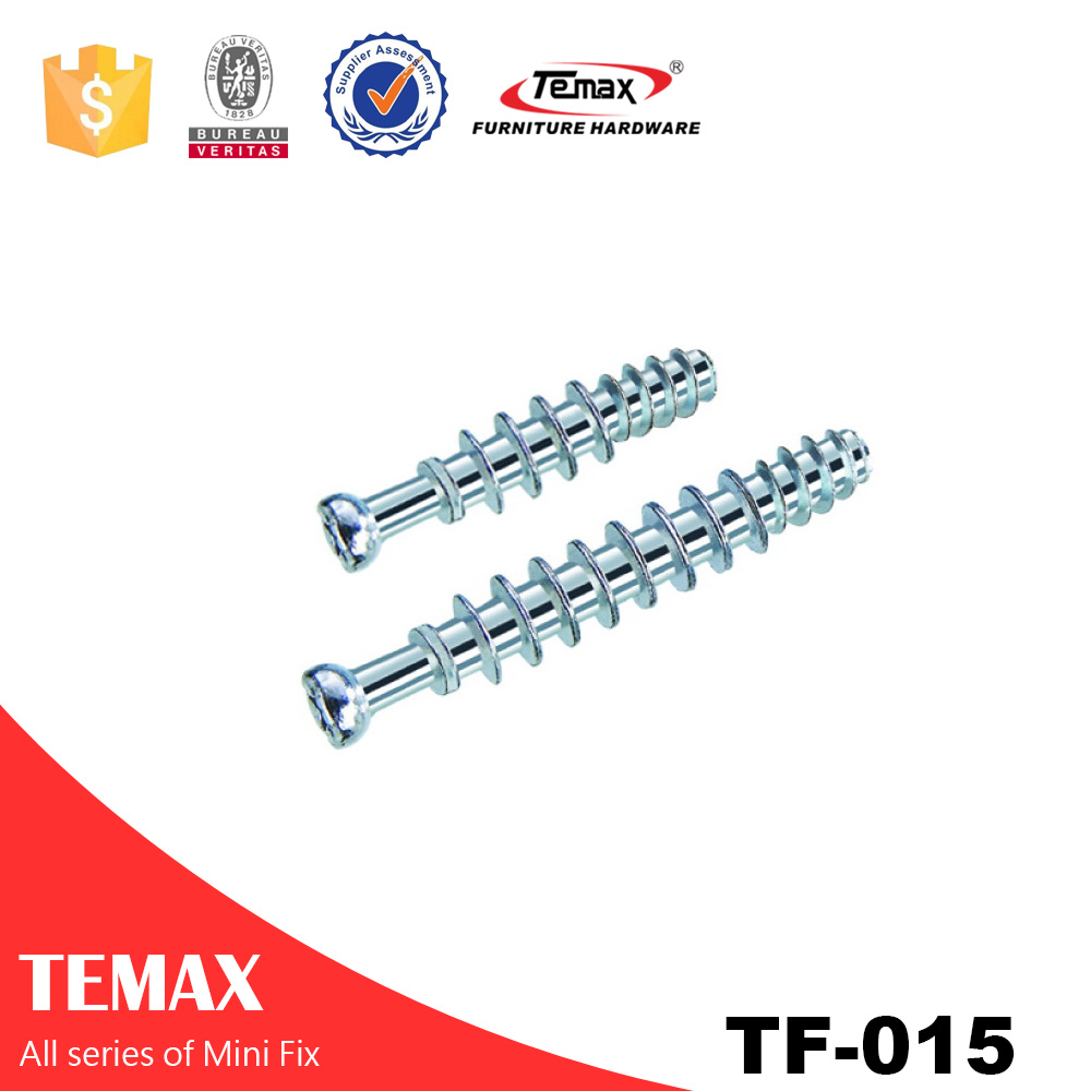Zinc finish Mini Fix Screw