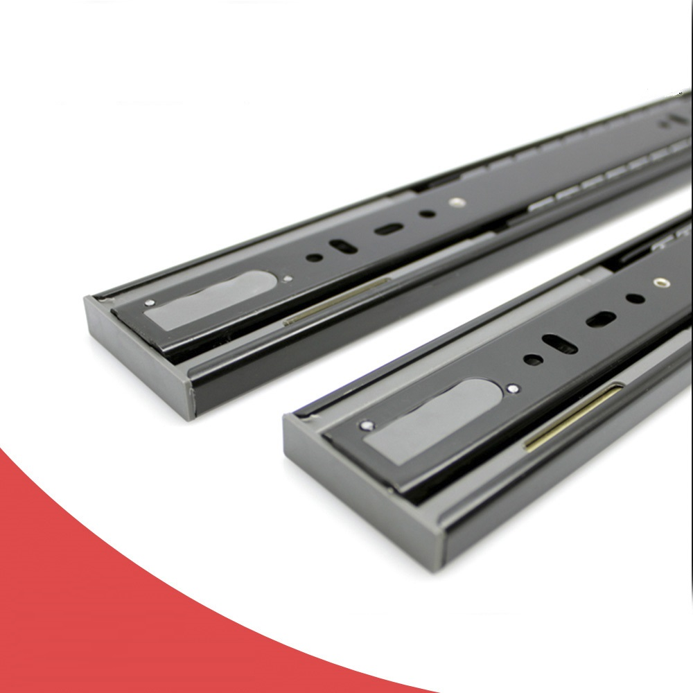 push open drawer slide concealed slide with 3d buckl