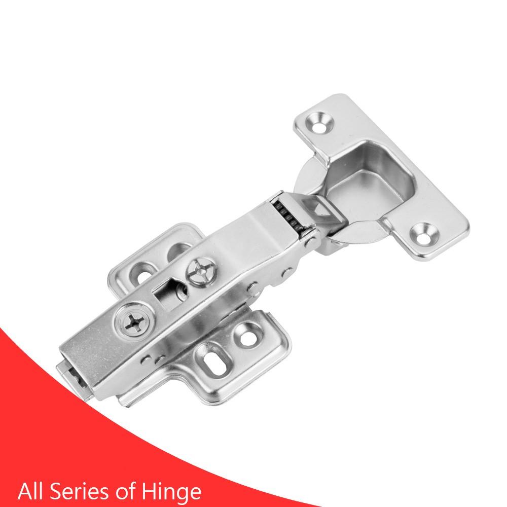 Soft closing cabinet full overlay iron button buffering Hinge
