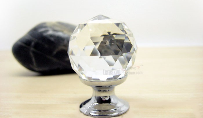 Drawer Handle Pull Crystal Handle