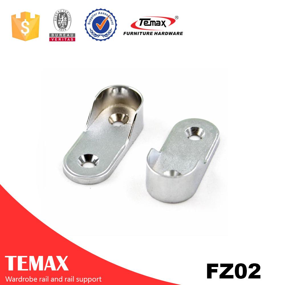 TEMAX wardrobe tube Flange/furniture hardware fittings/wardrobe accessories producer