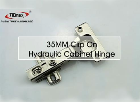 HB119A Temax 35mm جام هیدرولیک پنهان لولا کابین