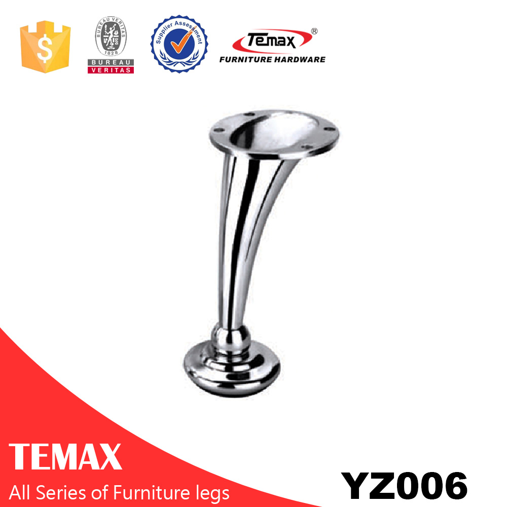 YZ006 Zinc alloy top end furniture legs and feet