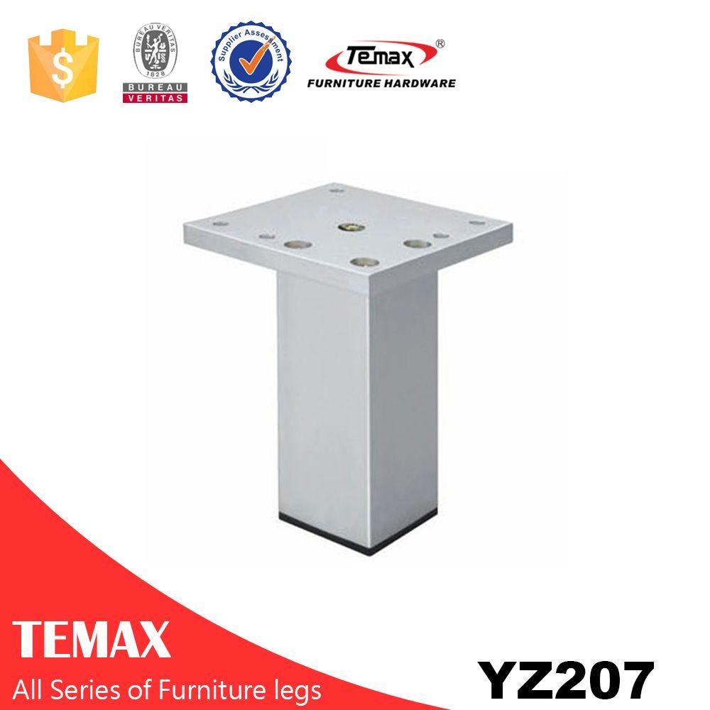 YZ207 الألومنيوم أثاث أنيق الساقين قدم