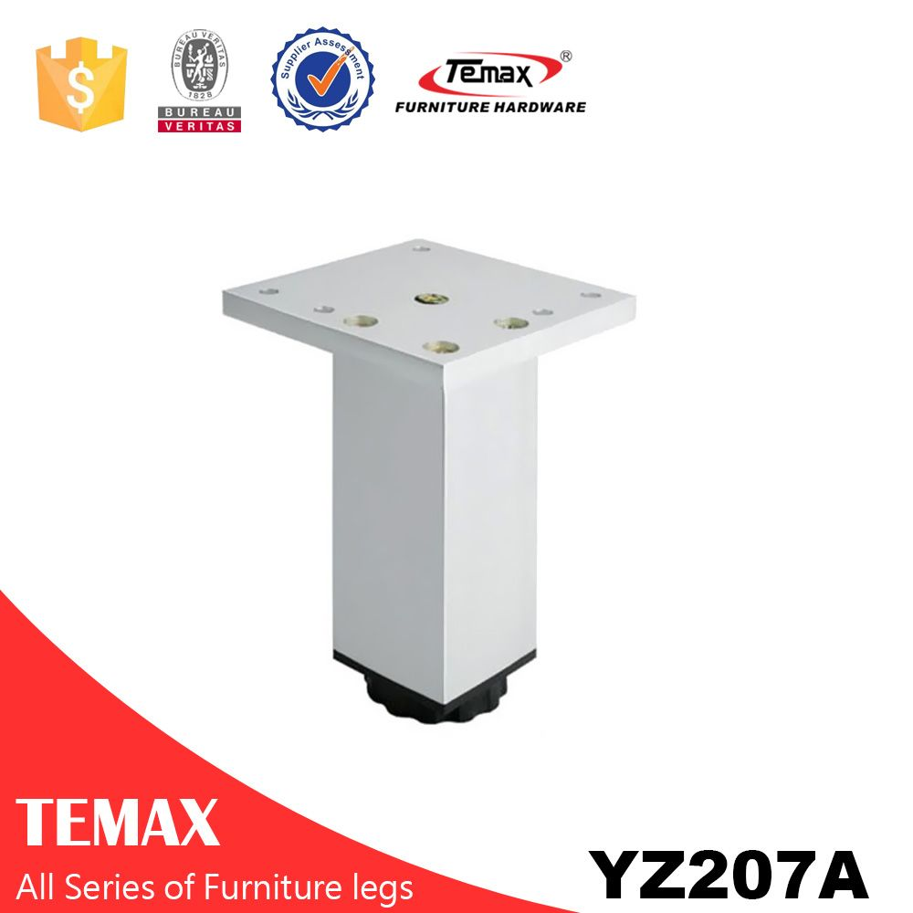 YZ207A square type Temax alumnium different size sofa legs